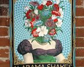 Alabama Shakes - Athens, GA - Official Gigposter