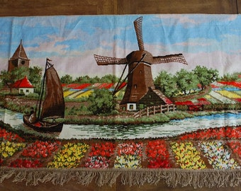 Vintage Wall Hanging ~ Holland ~ Souvenir