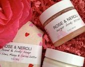 Valentines Gift | Gift for Girlfriend | Gift for Wife | Bath and Body Gift | Free US Shipping | Rose Neroli Scent