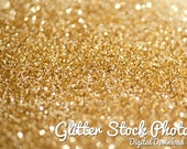 Gold Glitter Stock Pack - Christmas stock photography, gold glitter photos, personal use license