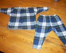 Unique Flannel Baby Pants Related Items Etsy