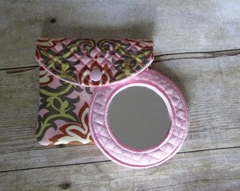 Quilted Mirror Pouch