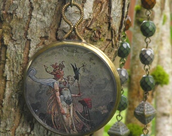 Mysterious Truth: Goddess Rosary Necklace