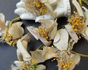 Vintage Shabby Millinery Flowers Supply