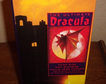 The Ultimate Dracula-Byron Press Editor-Hardcover Book w/DJ-1991