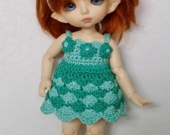 PukiFee/Lati Yellow 4 Pc Outfit Set Sea Blossom Fairy