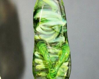 Green flip flop ornament