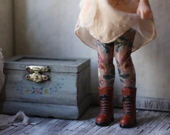 Forest Floor Blythe Doll Stockings