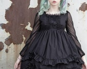 Gloomth Sample Lyre Gothic Lolita Dress Size Small IN STOCK!