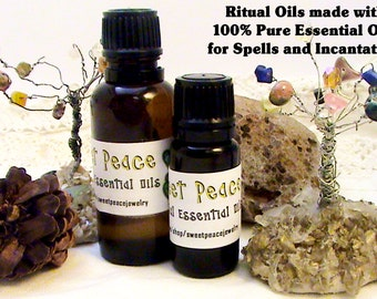 Earth Elemental Magickal Oil 2 dr-1/4oz- Wiccan, Oils for Spells, Anointing Oils, Potions, 100% Pure Essential Oils and Blessing Intentions