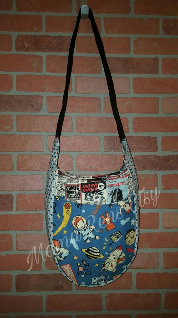 Cosmic Boy Tula Large diaper sling bag