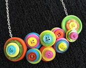 Button Necklace - SweetBaby Sugar