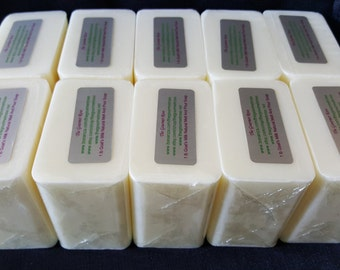10 lb GOATS MILK SOAP Base Melt and Pour Goat Goat's Glycerine 100 All Natural Wholesale Bulk