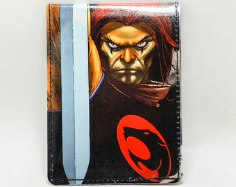 Sewn Comic Book Wallet - Thundercats - Lion-O and of the Sword of Omens