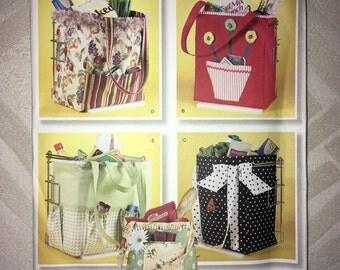 Uncut Out-of-Print Simplicity Pattern No. 2352 - Reusable Shoppinh Bag circa 2010