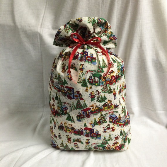 Extra large christmas gift bag inches toy