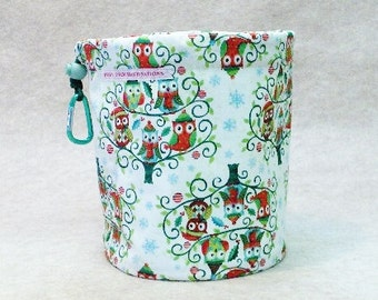 Wintery Owls  Bag