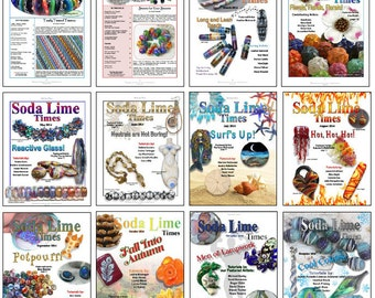 2014 - Full Year of Soda Lime Times back issues