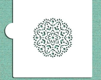 Mandala #5 Cookie and Craft Stencil - Designer Stencils (CM062)