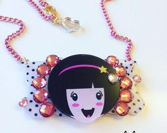 Sale!!! Afro deco Necklace