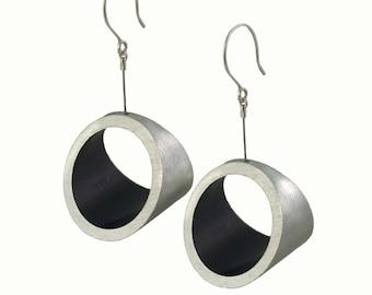 Fashion Kandinsky XL Earrings with Black