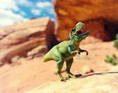 T-Rex Dinosaur Print, Nature Photography, Ruler of His Domain, Large Surreal Landscape, Kids Room Art, Whimsical Wall Art,Paleontology Decor