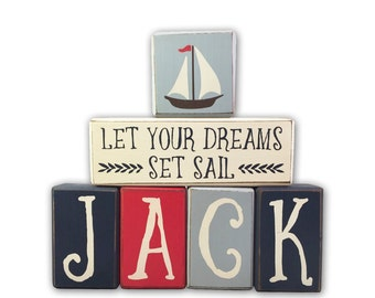 Nautical wall decor - custom - wood sign - Nautical Theme