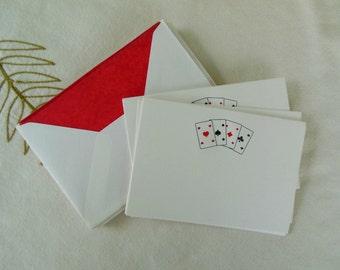 Vintage Jan Petr Obr Note Cards with Envelopes - Set of 10