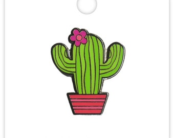 Desert Bloom Cactus Collectible Pin (Limited Edition) Doodlebug Collection Fun In The Sun Enamel Pin (5304)