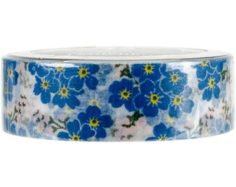 Forget Me Not Washi Tape • Flower Washi Tape (T1S29)