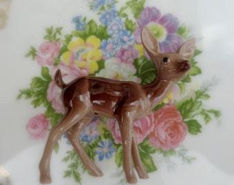 Vintage NOS Hagen-Renaker Mama Doe Deer  Fairy Garden Collectables