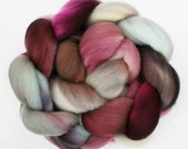 "Polwarth Wool  Spinning Fiber, 4 oz, ""Cherry Blossom"""