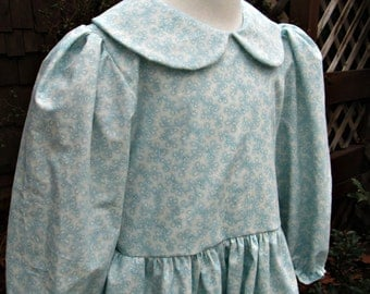 Girls Prairie Dress ..Pioneer costume ..Special Order ONLY(PLEASE see back up time inside ad)