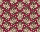 CLEARANCE! The Era Of Jane Collection-Main-Red-Sue Daley Designs- Penny Rose Fabrics -Cotton Fabric-Quilt Cotton- Full Yard Cut