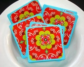 Bright Flowers Mini Card Set