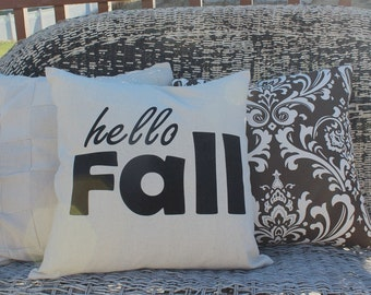 Fall PIllow Cover 18x18