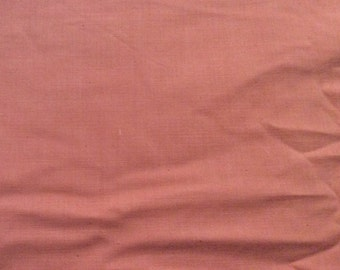 4 Yards of Vintage Pink Cotton Fabric