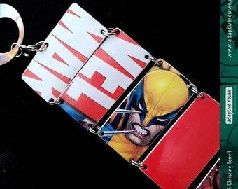 Lotsa Marvel—Upcycled Tin Bracelet