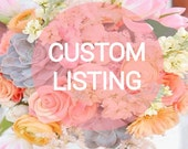 a custom listing of thank yous
