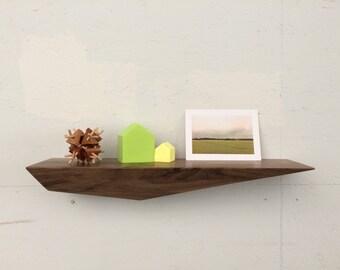 Peliship Floating Shelves - Walnut Large