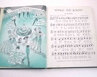 Singing In Harmony Vintage 1950s Children's School Songbook by Ginn and Co.