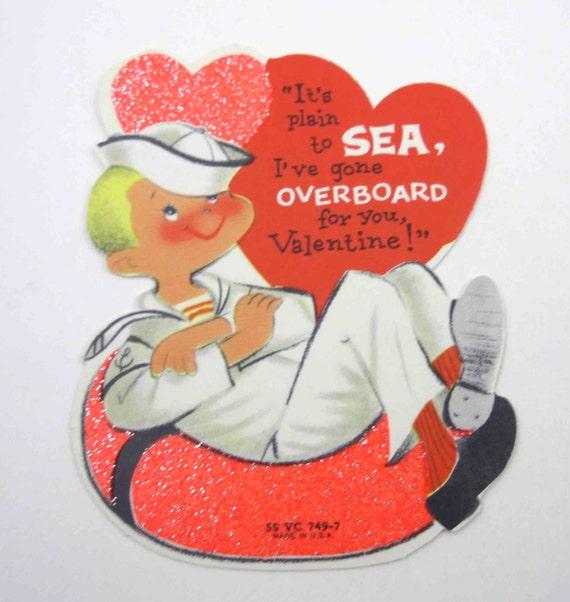 Valentines Day Vintage Sailor Cards – Big Valentines Cards