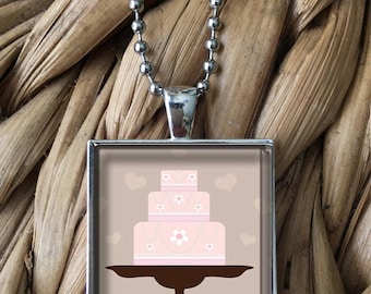 Cake Pendant Necklace