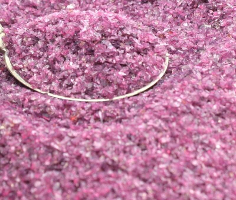 Purple chunky glitter translucent art glitter craft glitter for Chunky glitter for crafts