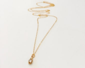 Bronze 'Ocean in a Drop' Charm Necklace