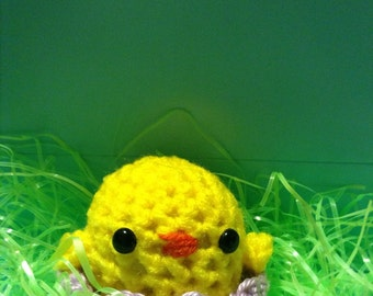 Easter  egg chick amigurumi