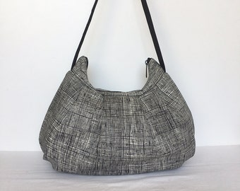 Pleated Bag // Shoulder Purse - Heath in Charcoal