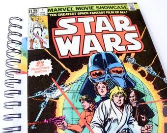 Star Wars Comic Journal & Sketchbook // Recycled Vintage Comic
