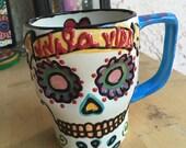 Jumbo Skull Ceramic Mug MUERTOS