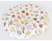 TURTLES Newborn Lounger  Boppy Cover  / Zipper closure / minky print with minky dimples  / Great neutral baby gift
